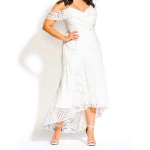 Beautiful City Chic Maxi Dress, NWT!
